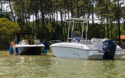 Bayliner Bowrider Boote. Hier: Element CC7
