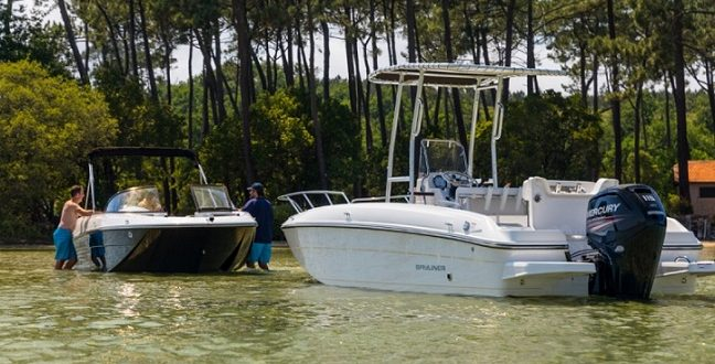 Bayliner Bowrider Boote. Hier: Element CC7