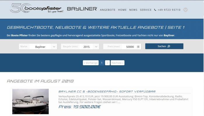 Bootepfister Screenshot