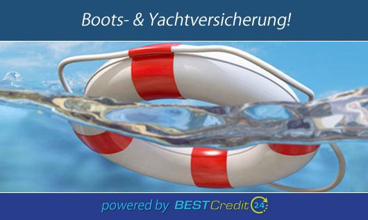 Boot versichern mit Best-Credit24.de