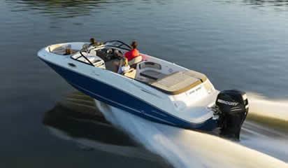Bayliner VR6 Bowrider Outboard