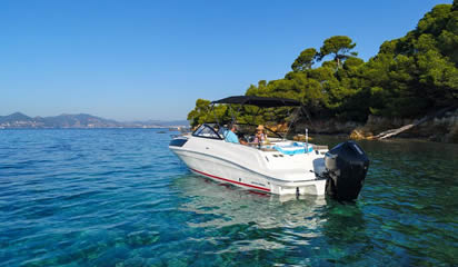 Bayliner VR6 Cuddy Outboard